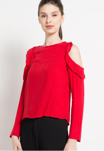 RODEO red Blouse Shirt RO332AA49DJMID_1