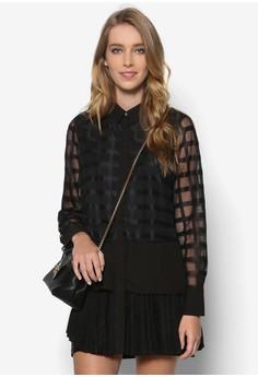 Netted Tunic Dress