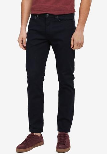 Burton Menswear London 海軍藍色 修身窄管長褲 D967FAAED8348BGS_1