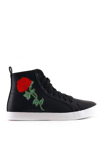 World Balance black Serafina L Sneakers 302C3SH5E62674GS_1