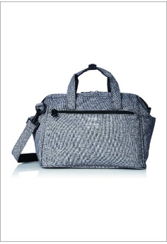 f6061500ec Anello grey Boston Bag Ripstop Heathered 2-Way Mini Boston AT-C2614-GY