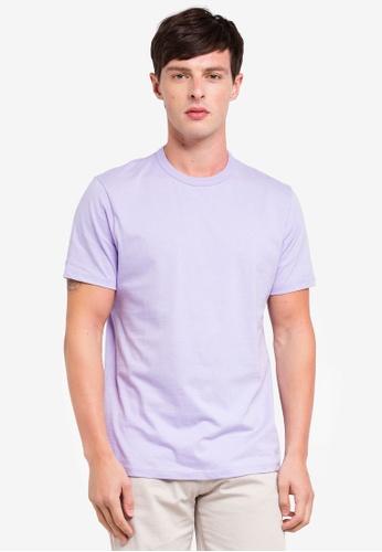 Topman 紫色 經典素色T恤 A0FD1AA4179BF3GS_1