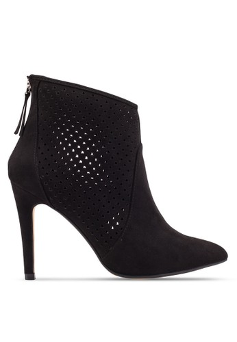 ZALORA Perforated Booties