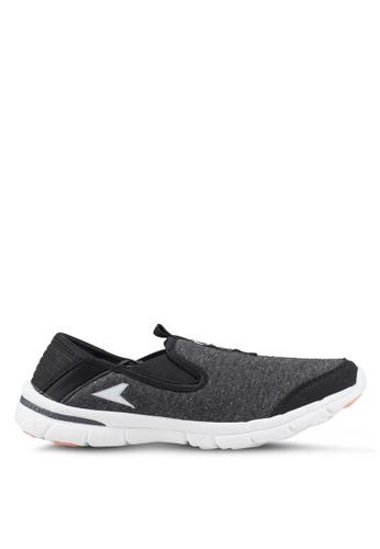 Power black and pink N-Walk Calm Walking Shoes 71638SH42E8E71GS_1