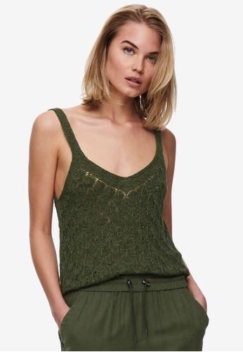 JACQUELINE DE YONG green Desha Top 4DF03AAB0E5730GS_1