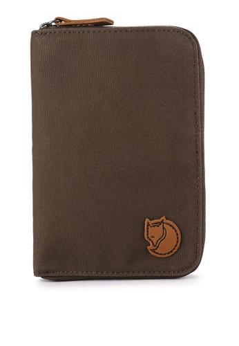 Fjallraven Kanken green Passport Wallet Backpacks 09FCAACCC3567EGS_1
