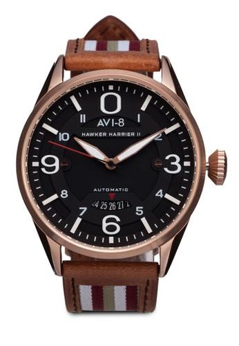 Hawker Harrier II 皮革腕錶, 錶類esprit taiwan, 奢華型