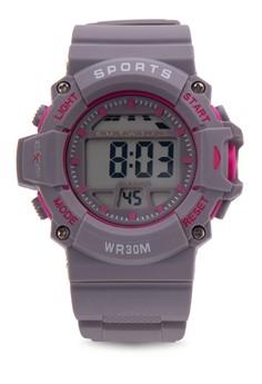 Unisex Rubber Strap Watch MXPO-640B