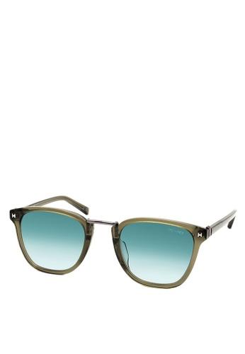 HEX EYEWEAR green Dealer - Viktor B. - Sunglasses - Italy Design HE671AC2V1L9HK_1