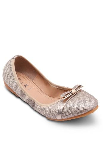亮面折疊鞋esprit鞋子, 女鞋, 鞋