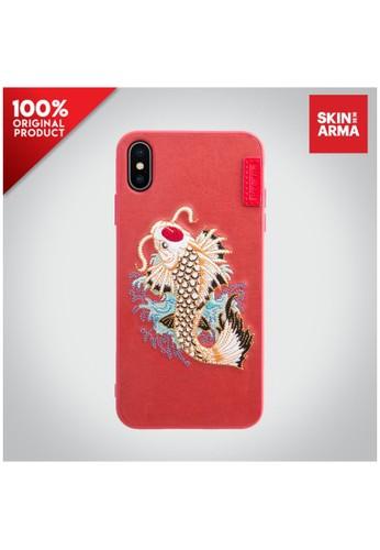 Skinarma pink Casing iPhone XS Max Irezumi Case Skinarma - Koi Kaho 33FEDES9974A4BGS_1