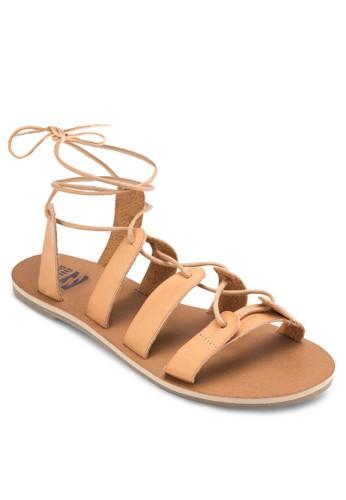 Beach Brigade 多帶繫帶平底涼鞋, 女esprit home 台灣鞋, 鞋