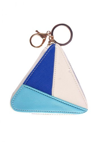 Treasure by B & D multi PU Leather Women Triangle Zipper Coin Purse TR022AC0JQ2EPH_1