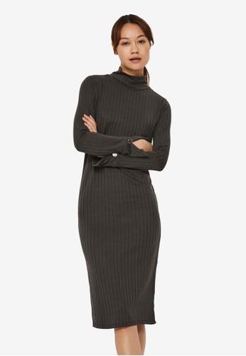 Vero Moda black Vilja Long Sleeve Dress D26B5AACE4C782GS_1