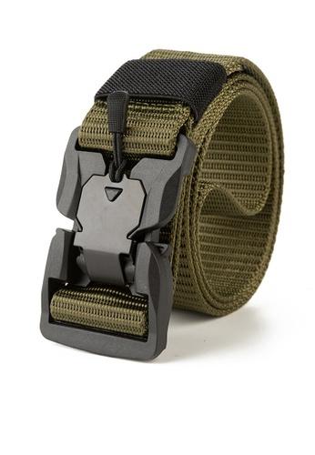 Twenty Eight Shoes Cyberpunk Nylon Belt KF02 56749AC30C9110GS_1
