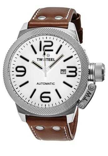 TW Steel brown TWA957 Canteen Automatic Analog Watch TW310AC0KM9APH_1