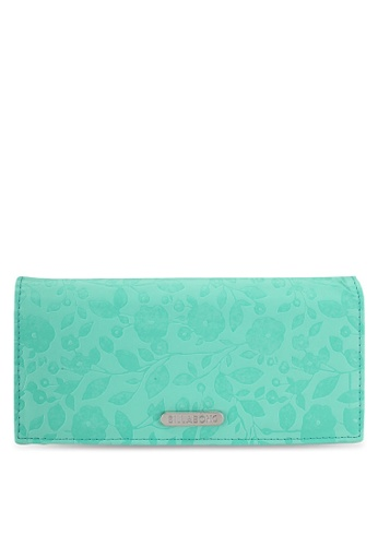 Billabong green Wallflower Wallet C6BD1ACFB8B87CGS_1