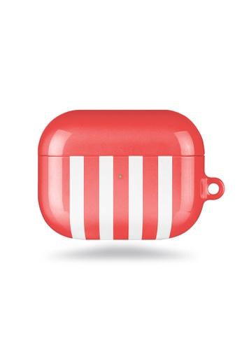 Polar Polar red Scarlet Stripe AirPods Pro Case (Glossy) 181A6ACA8DE057GS_1