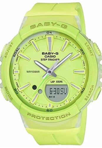 da96e99e769 Casio CASIO BABY-G AUTHENTIC BGS-100-9A Step Tracker models CA843AC0S7G1MY 1