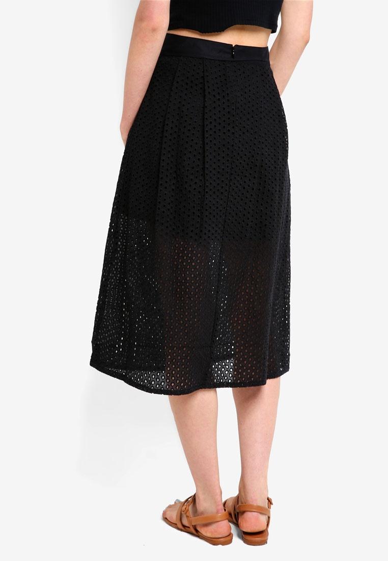 Skirt Lace Oakleigh Jack Black Midi Wills O0I77q