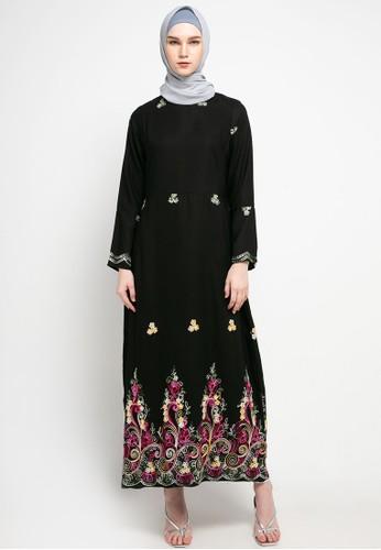 AZZAR black Zel Maxi Dress 267EAAA29C5267GS_1