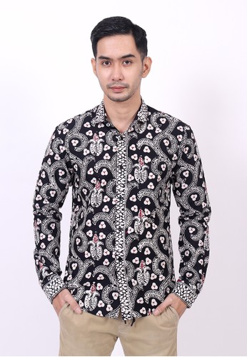 ENOM black Daiva Shirt 79B98AA84D3408GS_1