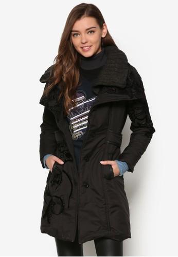 Poesprit分店ntevedra 冬裝長版外套, 服飾, 外套