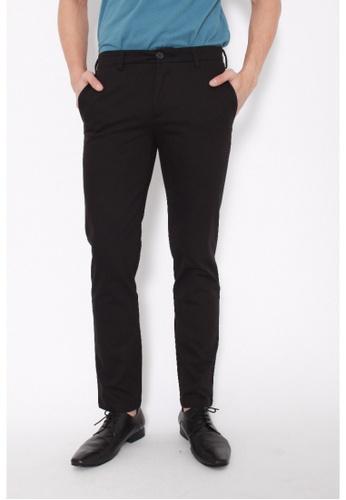 Dockers black Dockers Standard Clean Khaki Extra Slim Pants Black 19BB5AA0DB948AGS_1
