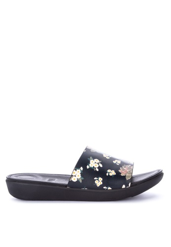 7707e44ab4f51 Shop Fitflop Sola Dark Floral Slides Online on ZALORA Philippines