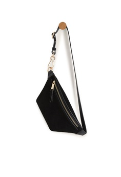 d36df011f3a607 Mango Leather Bum Bag RM 169.00. Sizes One Size