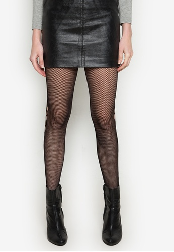 Chase Fashion black Pantyhose With Side Hole CH547US0K8H6PH_1