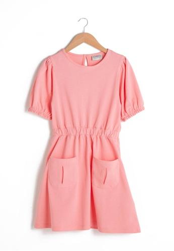 LC Waikiki pink Cotton Dress 0901EKA1E33B9AGS_1