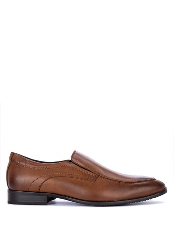Mendrez brown Thomas Loafers 15B03SH5858594GS_1