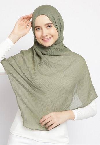 Le Najwa green Pashmina Laiqa 20729AA5B5E255GS_1