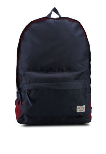 River Island navy Front Pocket Backpack 230ECAC6294AD1GS_1