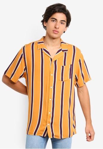 Cotton On 多色 飄逸條紋襯衫 33B1CAA28442ACGS_1