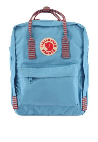 Fjallraven Kanken blue Air Blue-Striped Kanken Classic Backpack FJ382AC0SX80MY_1