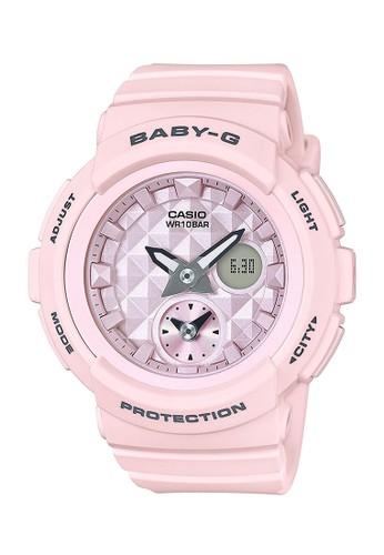 Baby-G pink Casio BABY-G Jam Tangan Wanita - Pink - Resin - BGA-190BE-4ADR BCB5DAC2DB26DAGS_1