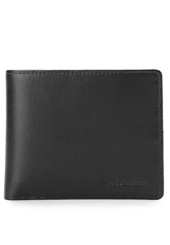 Louis Andreano black Premium Black Trifold Wallet LO182AC0VMY7ID_1