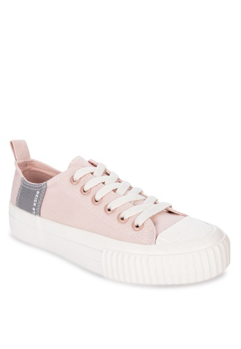 Appetite Shoes pink Lace Up Sneakers 86E1ESH337005BGS_1