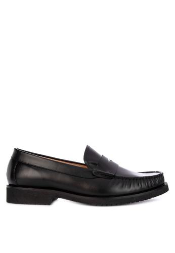 Bristol Shoes black Lebron Loafer 9927FSHF652B72GS_1