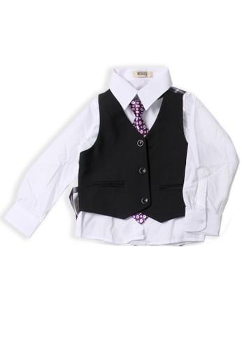Moejoe black Simple Black Suit - MOEJOE 5CC2DKA61D10F2GS_1