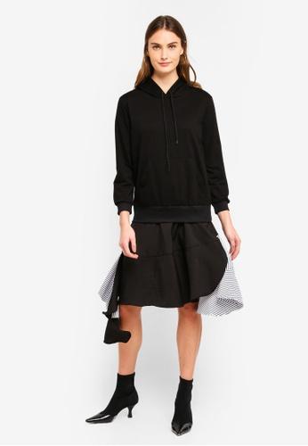 Haute Kelly black Bon-Hwa Dress 3138CAA07FA5CAGS_1