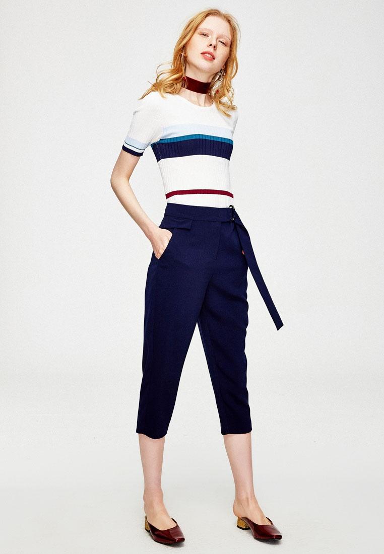 Hopeshow Belted Pants Hopeshow Belted Navy Navy Pants Capri Capri X4Oxw5