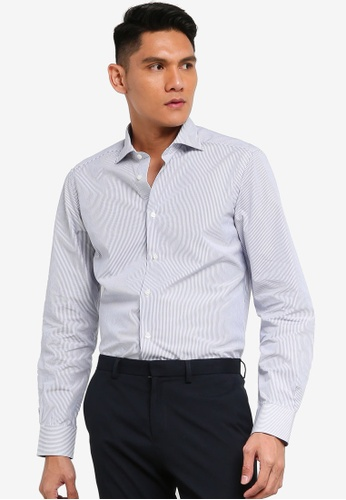 OVS blue Printed Shirt 7866CAAFDC087DGS_1
