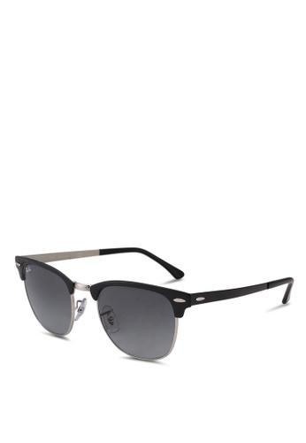 Ray-Ban black RB2132F Sunglasses E4183GLA0FA4D1GS_1
