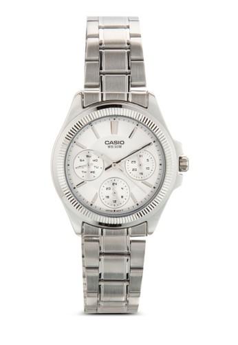 LTP-2zalora開箱088D-7AVDF 不銹鋼女性圓錶, 錶類, 飾品配件