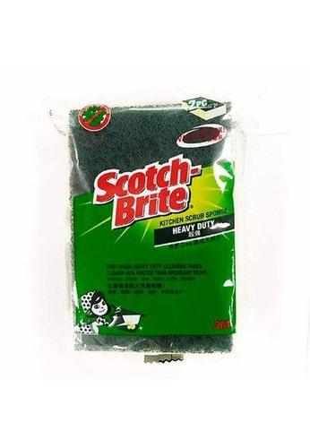Scotch-Brite 3M Scotch Brite Heavy Duty Scrub Sponge 2pcs [420-2PK] 3C84BES3FAF967GS_1