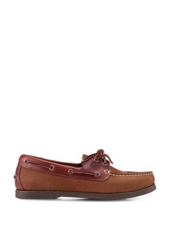 Lumberjacks 褐色 Boat Shoes C3C07SH17CE434GS_1