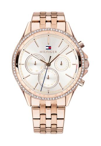 Tommy Hilfiger silver Tommy Hilfiger Silver White Women's Watch (1781978) 735C6ACB4FD17AGS_1